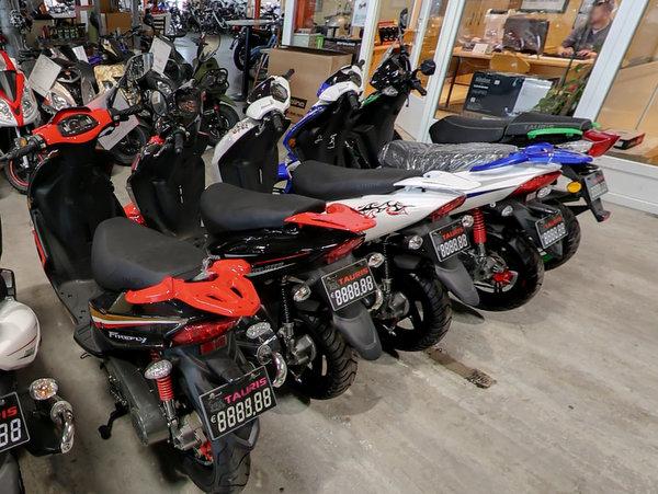 Motorroller kaufen aus  Langenbrettach