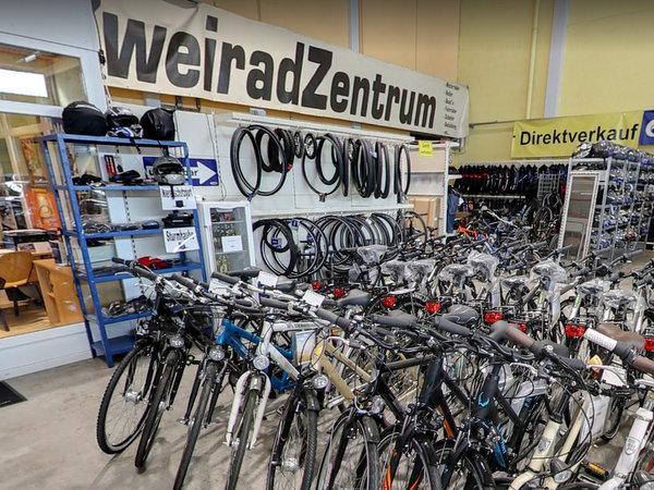 Fahrrad, Zweirad Zentrum aus  Ellhofen